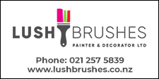 LUSH BRUSHES PAINTER & DECORATOR